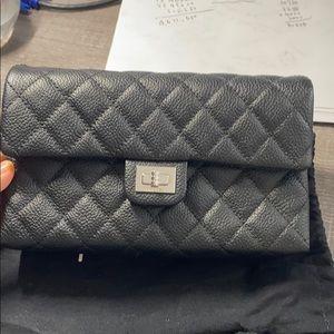 CHANEL Bags - Chanel black cavier skin belt bag